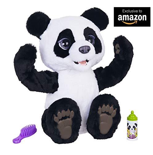 Furreal Friends-Mi Panda Curioso, color blanco/negro, Talla Única (Hasbro E85935S0)