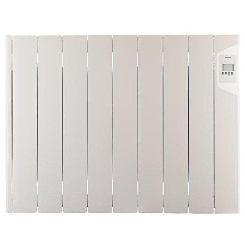 Radiateur électrique DUCASA - 0.636.275 Radiateur mural à fluide thermique - 1800 W - Electronique - Aff.LCD - Fil pilote 6 ordr