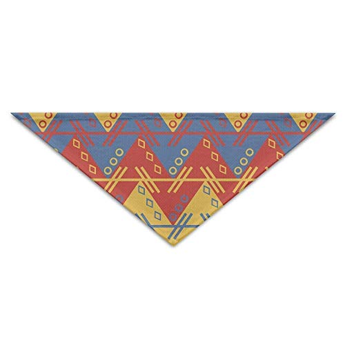 Sdltkhy Aztec South American Pattern Triangle Pet Scarf Dog Bandana Pet Collars Dog Cat - Birthday -