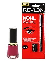 Revlon Kohl Kajal and Nail Enamel Fuchsia Fever (Set of 2)