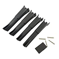Fytoo Accessories for Hubsan X4 H501S H501A H501C H501M H501S W H501S pro Bushless Four-axis RC Quadcopter Upgrade Parts 4Pcs Landing Gear+4Pcs Propeller Blade+4Pcs Propeller protector Drone Spare Parts Black