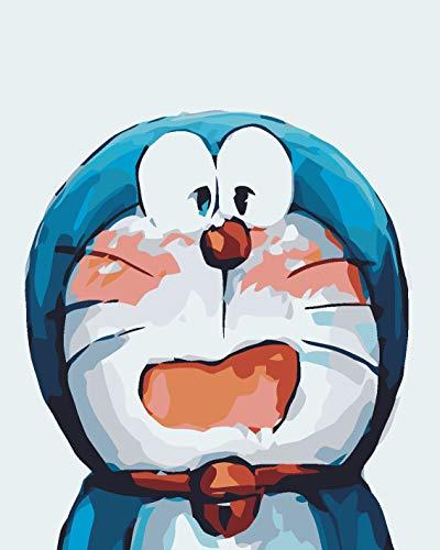 Digitale malerei Neue DIY Digitale malerei Anime Jingle Katze Wohnzimmer Schlafzimmer Cartoon handgemalte Multi gesichtsausdruck Packung d
