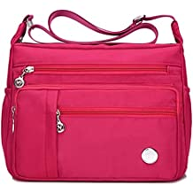 Luckycat Mujer de Bolsos de Moda Impermeable Mochilas Bolsas de Viaje Bolso Bandolera Sport Messenger Bag