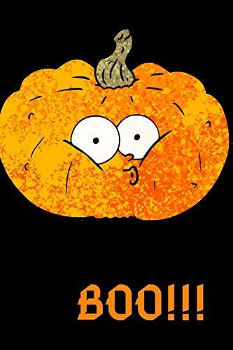 mpkin Cartoon Themed Notebook ()