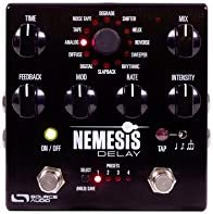 Source Audio Nemesis – Pedal de efecto delay negro