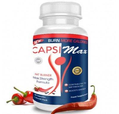 Capsimax-Piperine de Nutrition Slimming est le nouveau supplément de perte de poids naturel fabriqué à partir de la plus pure de l'extrait Capsicum (pipérine)- Formule extra fort, avec une forte concentration de Capsicum - Capsimax agit comme un naturel thermogénique 100% - Il aide à contrôler la masse de graisse - Il n'a pas d'effets secondaires et ne provoque pas de brûlure - Chaque paquet contient 60 capusles.
