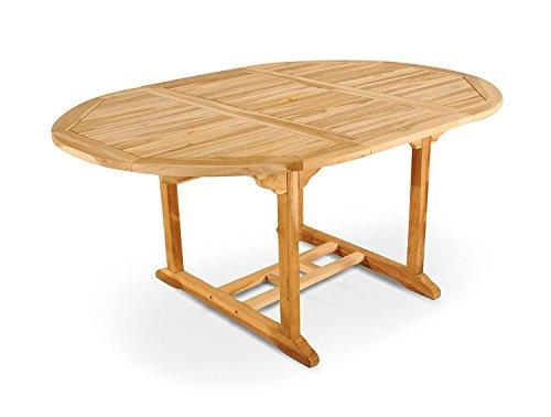 Gartentisch ausziehbar holz  Ausziehbarer Holz Gartentisch - MERXX Gartentisch aus Holz