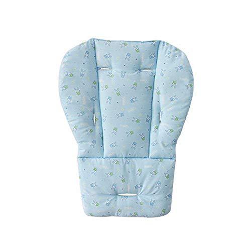Hemore Baby Sitzkissen Einlage Matte Pad Bezug für Kinderwagen Auto Hochstuhl Atmungsaktiv Wasserdicht Liner Matte Pad Protector 1 Stück Blau Gesundheit Baby Pflege