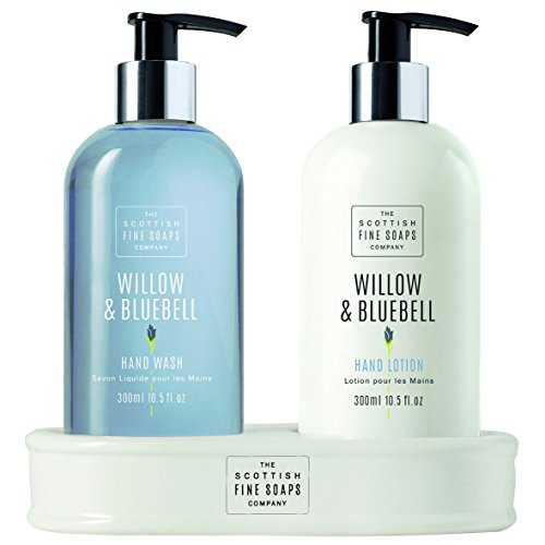 Hand Caddy (The Scottish Fine Soaps Company Willow & Bluebell Caddy Pflege von Händen – 300 ml)