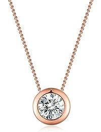 7f5af4e0982f Amazon.es  rosa oro - Collares   Mujer  Joyería