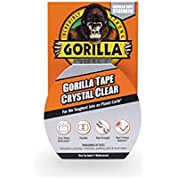 Gorilla 6027002 07164000719 Gaffer & Builders Clear Tape 8.2m