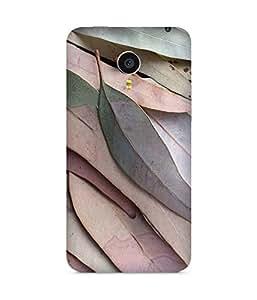 Pastel Leaves Back Cover Case for Meizu MX4