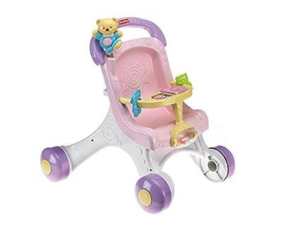 Mattel M9523 Fisher-Price - Carrito con muñeco de Mattel