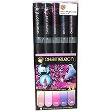 Chameleon Pens–Juego de 5–Floral Tones