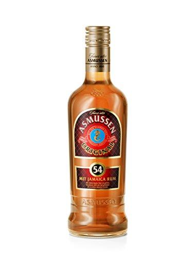 Feiner Alter Asmussen Rum Original 54{8f87df2bbbc35295bc7dda12400d54d4307ec4caabb0096840b19e213cce7e85} mit Jamaica Rum (1 x 0.7 l)