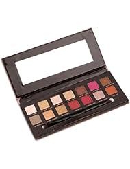 VWH 12 Farben Lidschatten Palette Makeup Eyeshadow Kosmetik Profi Augenpalette