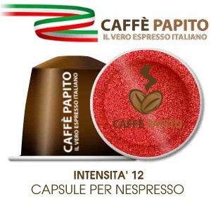 100 CAPSULE CAFFE' NESPRESSO 100% COMPATIBILI GRAN CREMA E GUSTO