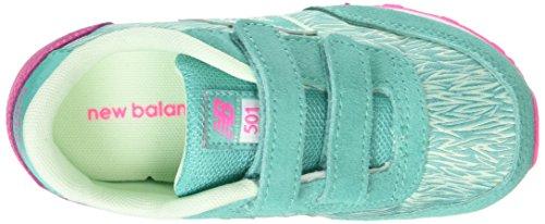 New Balance Mädchen, Funktionsschuh, Kv501 Lifestyle grün (Seafoam)