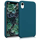 kwmobile Apple iPhone XR Hülle - Handyhülle für Apple iPhone XR - Handy Case in Petrol matt