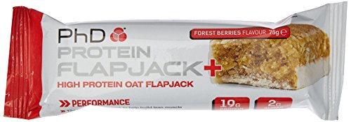 PHD Protein Flapjack - Forest Berries (12 Riegel), 1er Pack (1 x 900 g) - Fort Gesetzt
