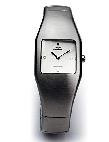 Sandoz 71502-08 Reloj de mujer acero matizado