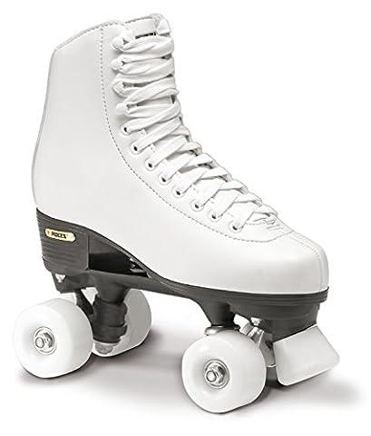 Roces Erwachsene Rollerskates Rollschuhe Artistic RC1 Classicroller, Weiß, 39, 550025-001