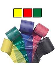 3er-Packung Theraband, Gelb, Rot, Grün