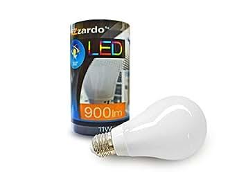 Azzardo Ampoule LED - ensemble de 5 articles (E27 220-240V/50Hz, 11W, 900 LM, 2700K) LIGHTING ANGLE 360° - WARM