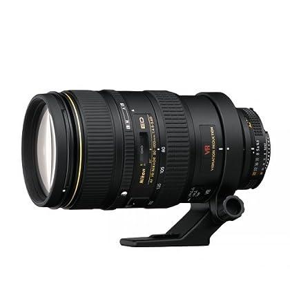 Nikon AF Zoom VR 80-400mm F4.5 D - Objetivo con montura para Nikon (distancia focal 80-400mm, apertura f/4.5, estabilizador de imagen)