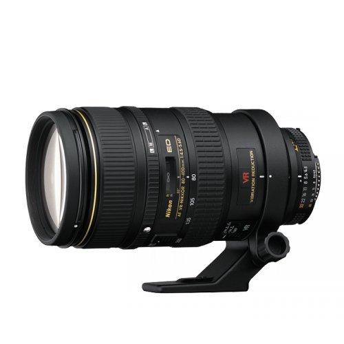 Nikon AF Zoom VR 80-400mm F4.5 D - Objetivo con montura para Nikon (distancia focal 80-400mm , apertura f/4.5, estabilizador de imagen)