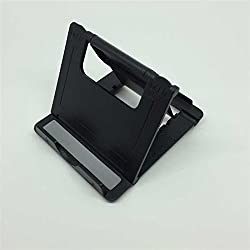 Generic ABS Triangle Tablet Cell Phone Holder Bedside Stand Fixed Bracket Black