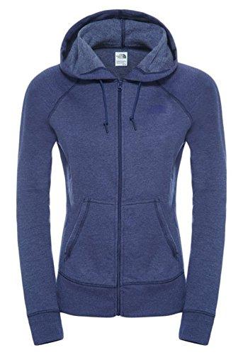 North Face Damen Sweatshirt W Ma Logo Hoodie Patriot Blue Heather
