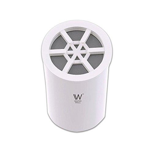 Ersatz Kartusche für waterwell Dusche Filter-Hohe Ausgangsleistung Chlor Entfernung Duschkopf Filtration System & Wasser Luftreiniger-8Stage Filter
