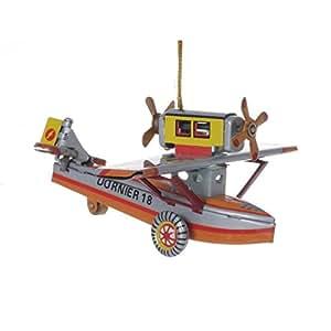 wps Wasserflugzeug, Blechdeko Blechspielzeug: Amazon.de
