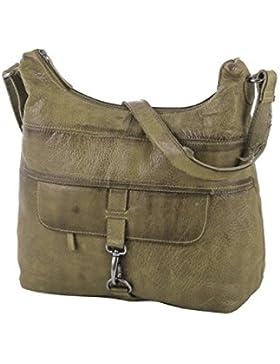 Rada Nature Umhängetasche 'La Spezia' echt Leder Handtasche in verschiedenen Farben