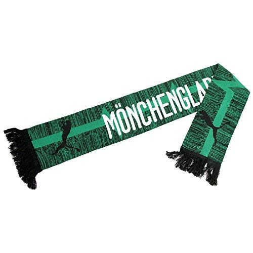 PUMA BMG Fan Schal, Power Green Black, One Size - Power-fan