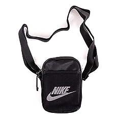 Idea Regalo - Nike NK Heritage S Smit Pochette/Borselli Uomini Nero - Unica - Pochette/Borselli