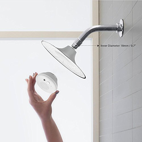aozbz bluetooth dusche lautsprecher mit wasserdichten handy tasche musik dusche dusche. Black Bedroom Furniture Sets. Home Design Ideas