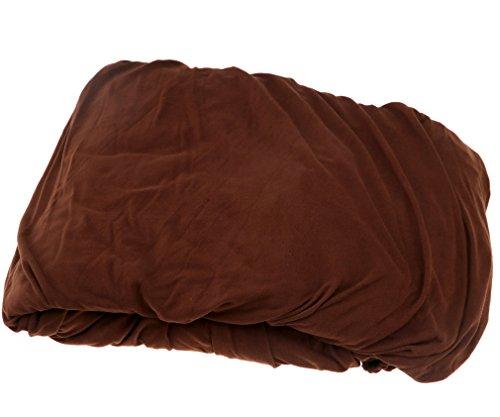 Sofabezug Sesselbezug Sofabezüge Sitzbezug Sofahusse braun 3xSitzer 190-230cm