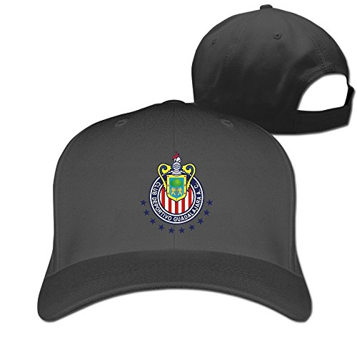 Hittings Cool Chivas De Guadalajara Snapback Baseball Cap Women/Men Black