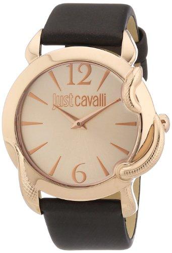 Just Cavalli Damen-Armbanduhr Eden Analog Quarz Leder R7251576501