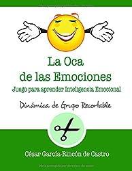 La Oca de las Emociones: Juego para aprender Inteligencia Emocional (Dinámicas de Grupo Recortables)