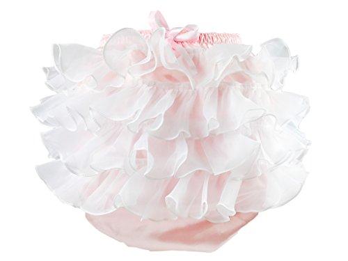 Preisvergleich Produktbild haian ABDL PVC & Satin Panty Rüschen Rumba Hose Farbe Pink