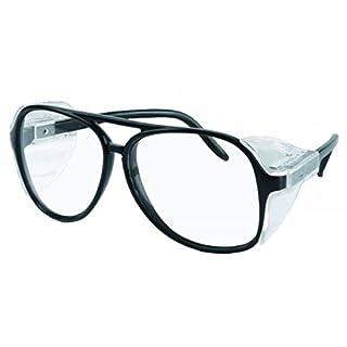 Schutzbrille mit kratzfesten Kunststoffscheiben
