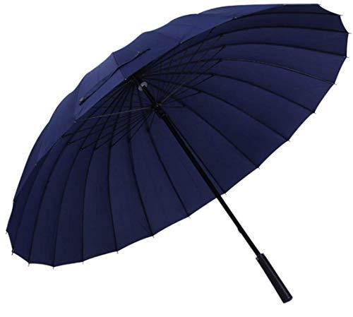 Regenschirm 24k Große Frauen Regenschirm Regen Frauen Winddichte Männliche Walking Stick Regenschirme Männer Sonne Sonnenschirm