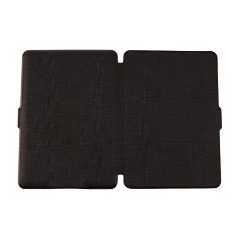 Tsing Funda Kindle Paperwhite de Cuero Sintético Cierre Magnético Ultra Delgado   compatible con todas las generaciones de Kindle Paperwhite (NEGRO)