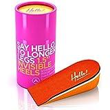 Say Hello to Longer Legs Invisible Heels Semelle 3,8cm, 1er Pack de