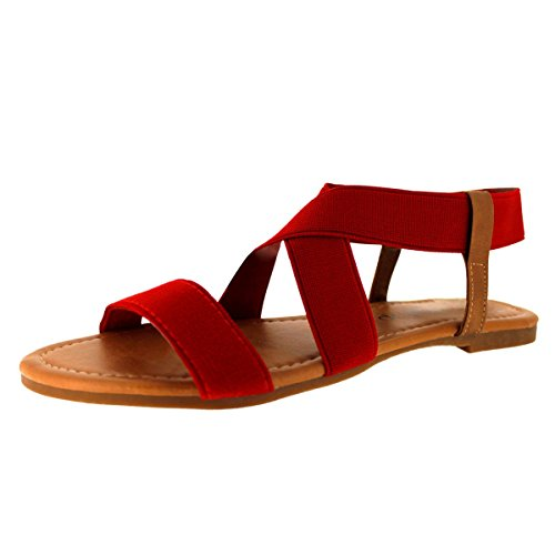 sandalup-womens-elastic-sandal-red-size-04