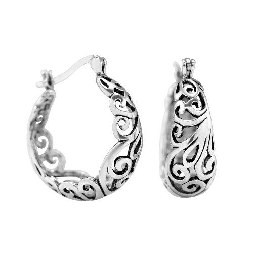 925-sterling-silver-oxidized-filigree-bali-style-round-hoop-earrings