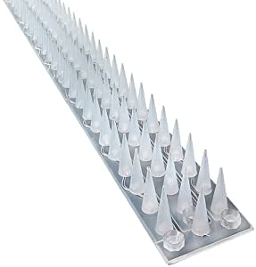 Good selections windowsill wall and fence spikes 5 metre for Dissuasori piccioni amazon